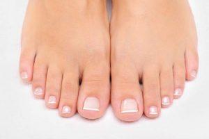 ayaklarda temizlik